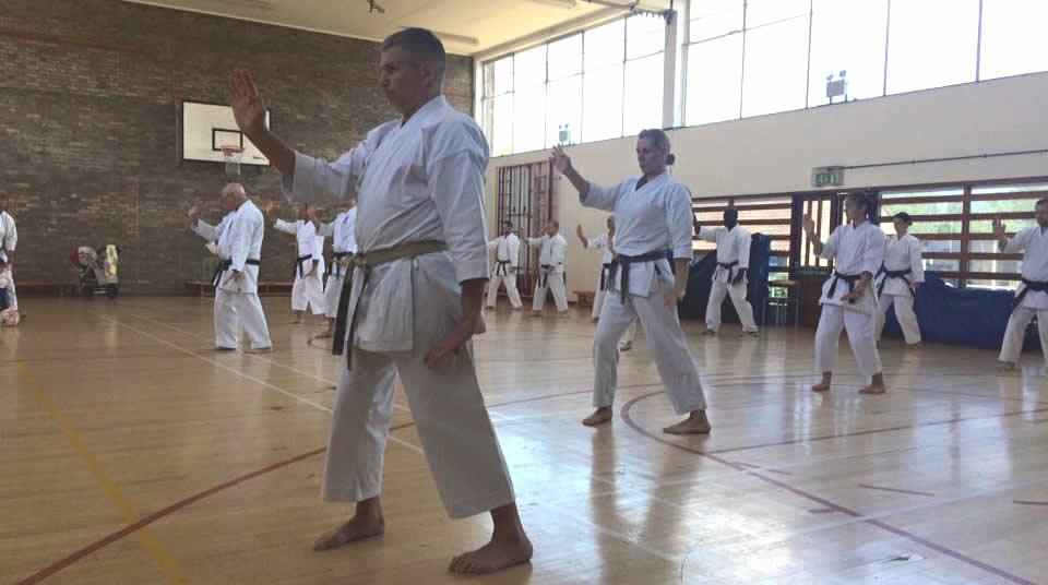 Seisan kata from Okinawan Goju Kai Karate Do