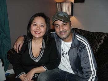 Bally Sagoo and Angela Ang