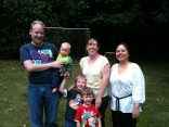 Anita and Henrik's family with Master Angela Ang