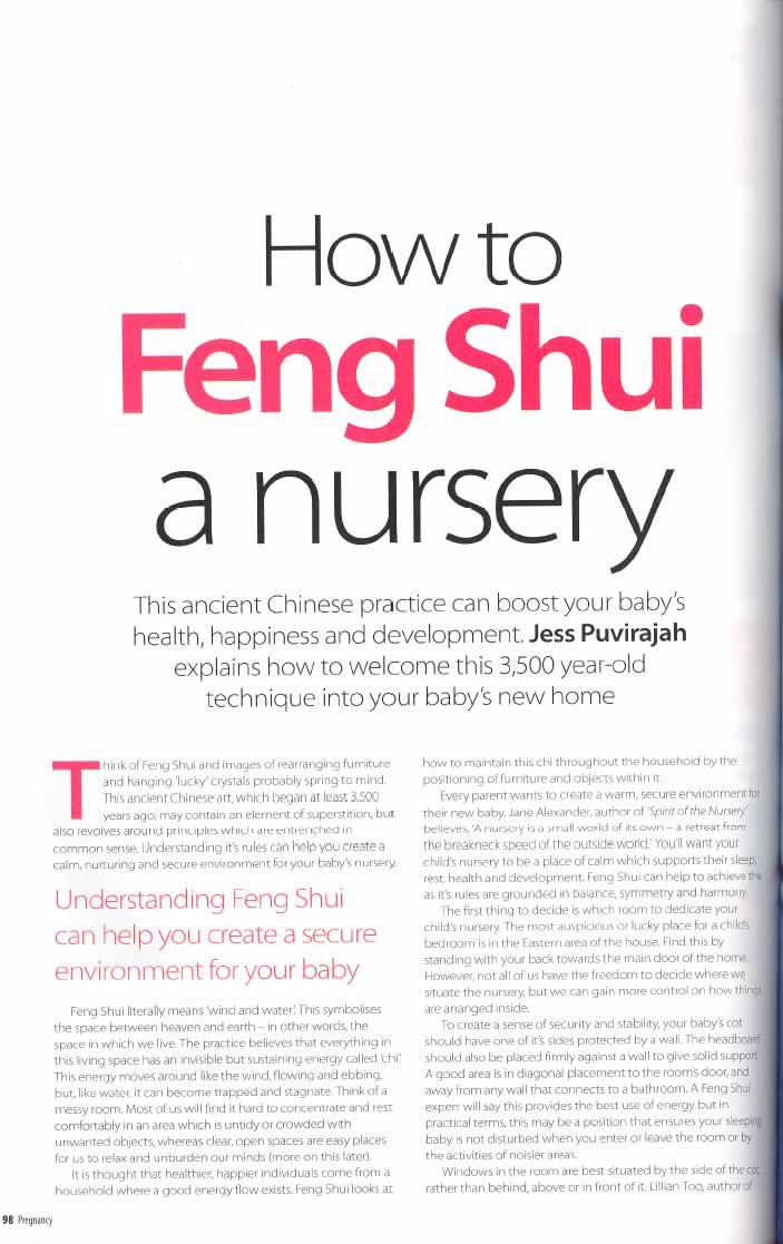 How to Feng Shui a Nursery page 1