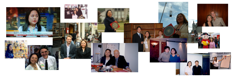Montage of 18 years of Master Ang doing Feng Shui