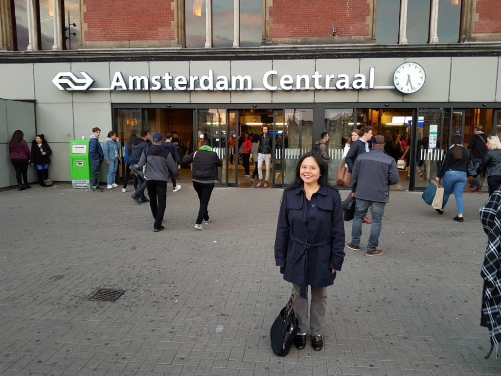 En-route to Ijmuiden, Master Ang passes through the bohemian capital, Amsterdam in the Netherlands