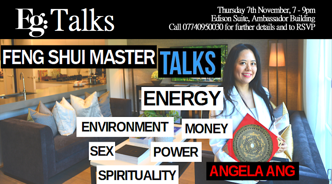 Master Angela Ang speaks on Feng Shui at London's Embassy Gardens